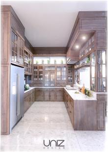 UNIZ Thiết kế kiến trúc nội thất Buôn Ma Thuột. Nội thất phòng ăn