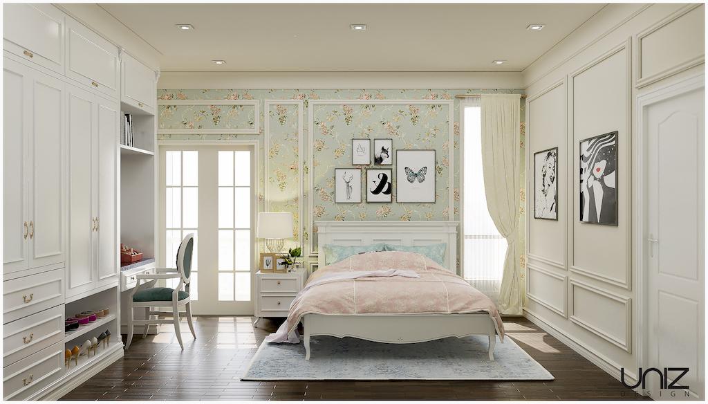UNIZ Thiết kế kiến trúc nội thất Buôn Ma Thuột. Nội thất phòng ngủ