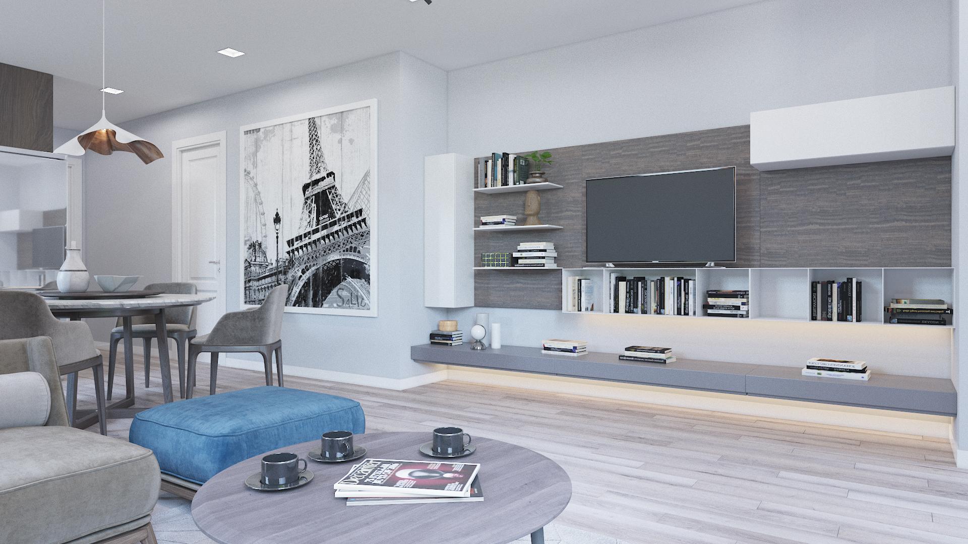 Thiết kế kiến trúc nội thất Buôn Ma Thuột - UNIZ   Mẫu thiết kế nhà ở miễn phí hiện đại cho gia đình trẻ