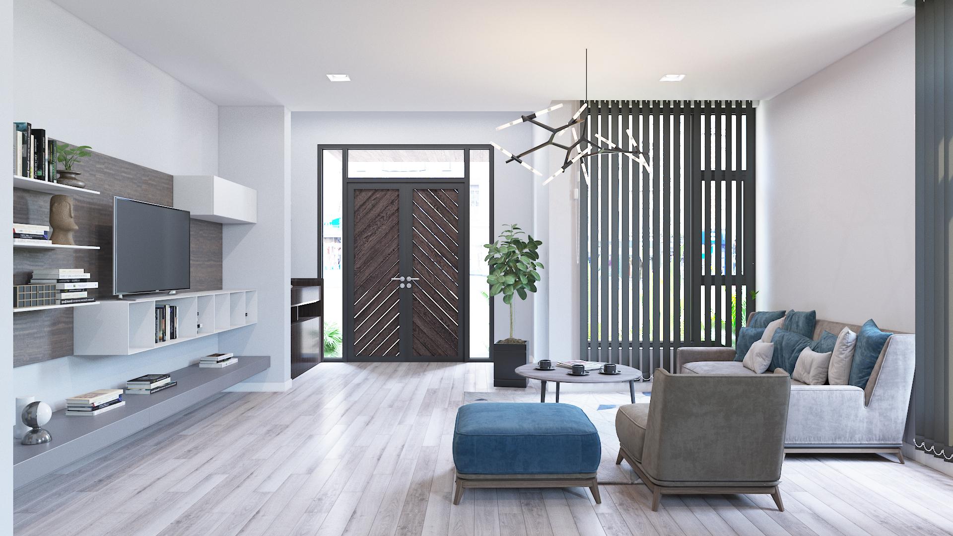 Thiết kế kiến trúc nội thất Buôn Ma Thuột - UNIZ | Mẫu thiết kế nhà ở miễn phí hiện đại cho gia đình trẻ