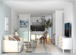 Nội thất căn hộ hiện đại cho người trẻ